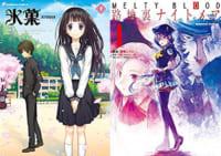 新着セール コミカライズ版『氷菓』1〜11巻や『MELTY BLOOD 路地裏ナイトメア』全2巻などKADOKAWAフェアほか